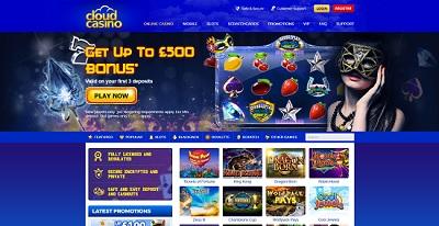cloud casino screenshot lobby