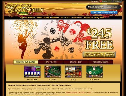 vegas country casino lobby