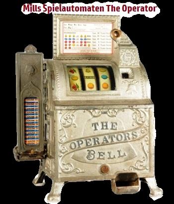 Mills Spielautomaten The Operato