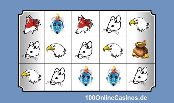 Beispiel für Spielsymbole Video Slots